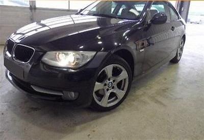 BMW 320d coupe negru 1