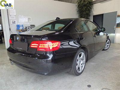 BMW 320d coupe negru